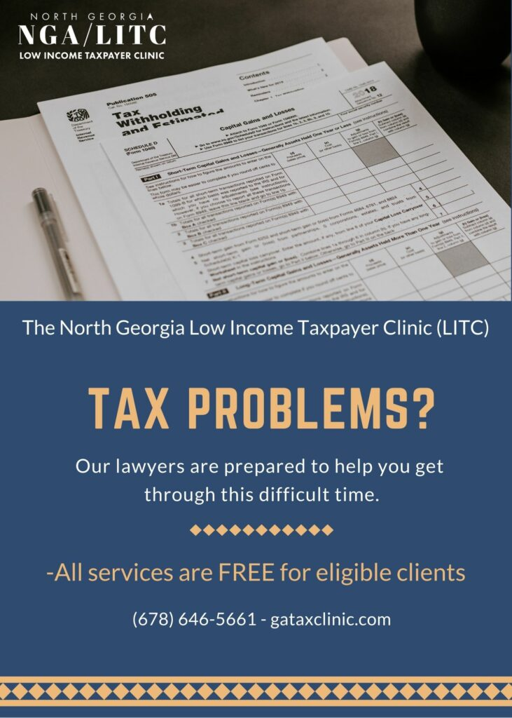 Too often, people with problems don't know who they can turn to for help. Our tax laws continue to increase in complexity, and resolving these problems can be difficult and confusing. Unfortunately, it is very often the most vulnerable taxpayers who pay the price. If you or someone you know needs help with tax issues, please reach out.