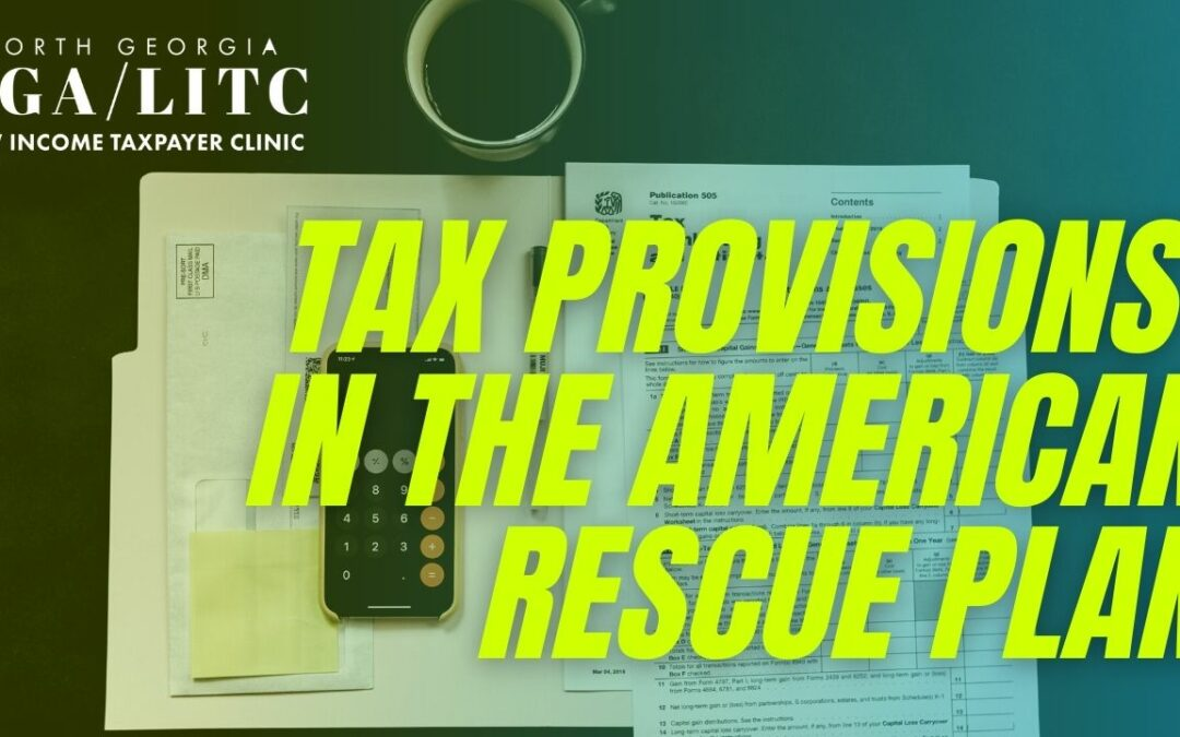 Tax Provisions in the American Rescue Plan